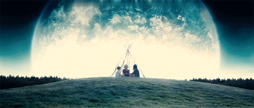 gif from the film Melancholia