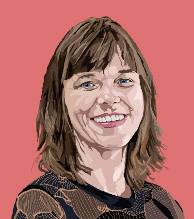 Maja Brouwer, illustration by Coen van Kaam (student Illustration, ArtEZ Zwolle)