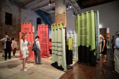 Lili Reynaud-Dewar, My Epidemic (Small Bad Blood Opera), at the 56th Venice Biennale, 2015